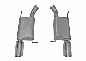 Gibson Performance Exhaust - Gibson Performance Exhaust Axle Back Dual Exhaust System, Aluminized 319012