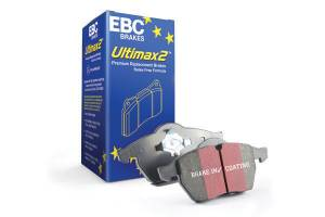 EBC Brakes Premium disc pads designed to meet or exceed the performance of any OEM Pad. UD1808