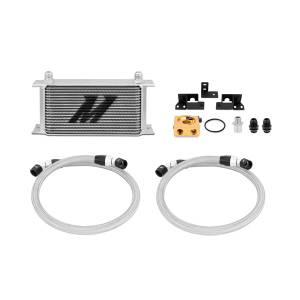 Performance - Oil System & Parts - Mishimoto - FLDS Jeep Wrangler JK Thermostatic Oil Cooler Kit MMOC-WRA-07T