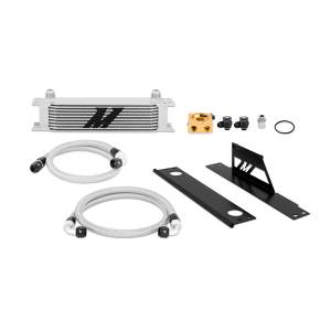 Performance - Oil System & Parts - Mishimoto - FLDS Subaru WRX and STI Thermostatic Oil Cooler Kit MMOC-WRX-01T