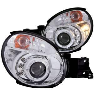 ANZO USA - ANZO USA Projector Headlight Set w/Halo 121435
