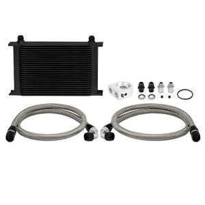 Mishimoto - FLDS Universal Oil Cooler Kit, Black, 25 Row MMOC-UHBK - Image 1