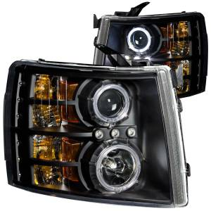 ANZO USA - ANZO USA Projector Headlight Set w/Halo 111107