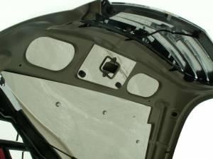 Hoods & Accessories - Hoods - American Car Craft - American Car Craft Hood Cap Polished Upper 3pc 423002