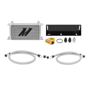 Performance - Oil System & Parts - Mishimoto - FLDS Ford Mustang 5.0L Thermostatic Oil Cooler Kit MMOC-MUS-79T