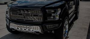 Exterior - Grilles - American Car Craft - American Car Craft Front Lower Grille Replacement Satin Stainless 1pc 772078