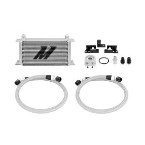 Performance - Oil System & Parts - Mishimoto - FLDS Jeep Wrangler JK Oil Cooler Kit MMOC-WRA-07