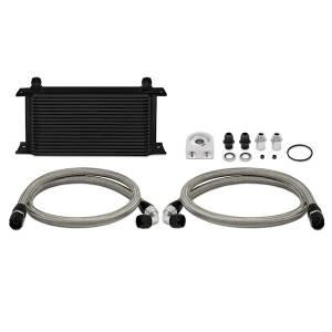 Mishimoto - FLDS Universal 19 Row Oil Cooler Kit, Black MMOC-ULBK - Image 1