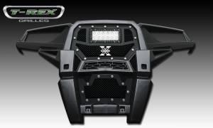 T-Rex - T-Rex Torch Grille, Black, Mild Steel, 1 Pc, Replacement 6319011