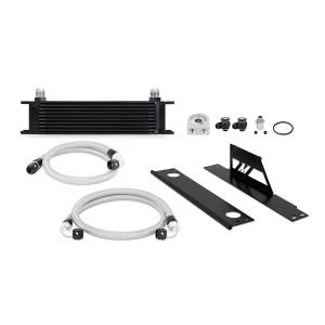 Performance - Oil System & Parts - Mishimoto - FLDS Subaru WRX and STI Oil Cooler Kit, Black MMOC-WRX-01BK