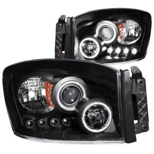 ANZO USA - ANZO USA Projector Headlight Set w/Halo 111104