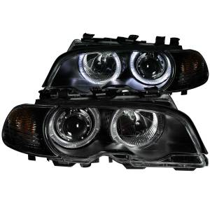 ANZO USA - ANZO USA Projector Headlight Set w/Halo 121269