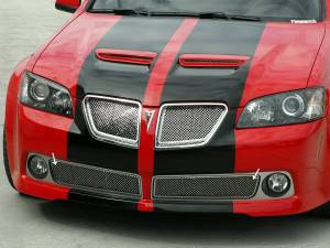 Exterior - Grilles - American Car Craft - American Car Craft Grille Laser Mesh Lower 2pc 222003
