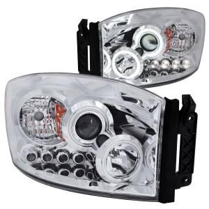 ANZO USA - ANZO USA Projector Headlight Set w/Halo 111103