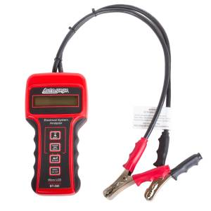 Apparel & Accessories - Tools & Shop Equipment - AutoMeter - AutoMeter BATTERY TESTER, 6/12/24V, AUTOGAGE BT-500
