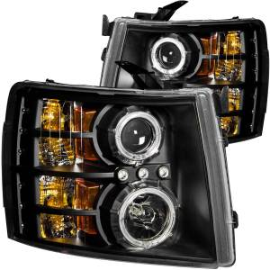 ANZO USA - ANZO USA Projector Headlight Set w/Halo 111200