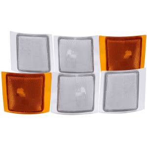 Lighting - Cab & Marker Lights - ANZO USA - ANZO USA Cornering Light Assembly 521021