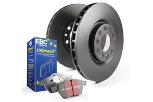 EBC Brakes - EBC Brakes OE Quality replacement rotors, same spec as original parts using G3000 Grey iron S20K1263