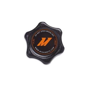 Engine Cooling - Cooling Parts - Mishimoto - FLDS Carbon Fiber 1.3 Bar Radiator Cap, Small MMRC-13-SMCF