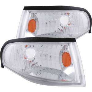 Lighting - Cab & Marker Lights - ANZO USA - ANZO USA Cornering Light Assembly 521016