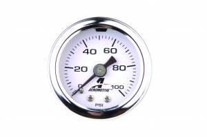 Electrical - Gauges & Pods - Aeromotive Fuel System - Aeromotive Fuel System Liquid-Filled Fuel Pressure Gauge 15633