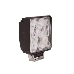 Westin LED Work Utility Light Square 4.6 inch x 5.3 inch Spot w/3W Epistar 09-12211A