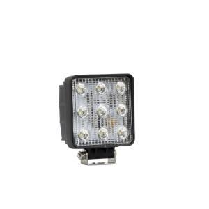 Westin LED Work Utility Light Square 4.6 inch x 5.3 inch Flood w/3W Epistar 09-12211B
