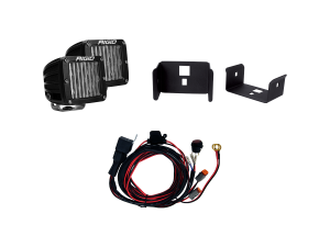 Lighting - Wiring and Mounts - RIGID Industries - RIGID Industries 2017-2018 FORD SUPER DUTY & 2018 F-150 FOG MOUNT KIT LIGHTS INCLUDED 41614
