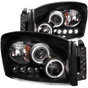 ANZO USA - ANZO USA Projector Headlight Set w/Halo 111209