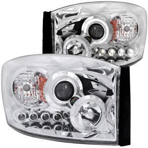 ANZO USA - ANZO USA Projector Headlight Set w/Halo 111210