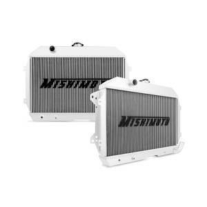 Engine Cooling - Radiators - Mishimoto - FLDS Datsun 240Z 2-Row Performance Aluminum Radiator, 1970-1973 MMRAD-DATS-70