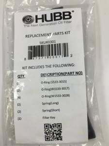 HUBB Filters - HUBB Filters Replacement Parts Kit 3301