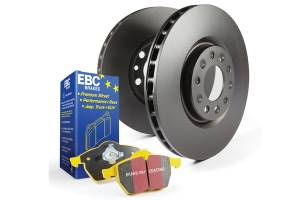 EBC Brakes - EBC Brakes OE Quality replacement rotors, same spec as original parts using G3000 Grey iron S13KF1671