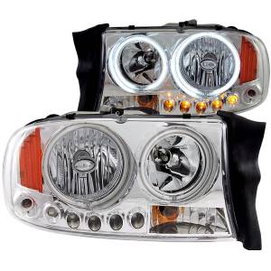 Lighting - Headlights - ANZO USA - ANZO USA Crystal Headlight Set 111059