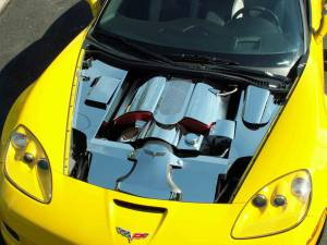 Exterior - Fenders & Flares - American Car Craft - American Car Craft Inner Fender Covers Polished 4pc Z06 043018