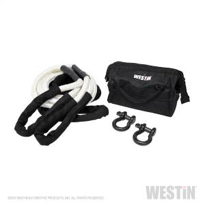 Westin - Westin 1in. diameter x 30ft. long white single braided rope rated at 25000 lbs. Include 47-3608