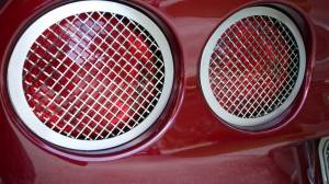 Bed Accessories - Truck Bed Accessories - American Car Craft - American Car Craft Taillight Grilles Laser Mesh 4pc 042064