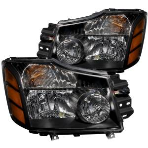 Lighting - Headlights - ANZO USA - ANZO USA Crystal Headlight Set 111069