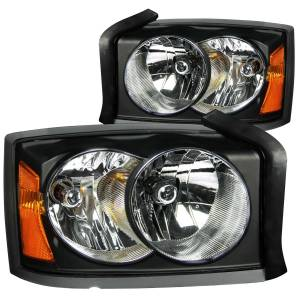 Lighting - Headlights - ANZO USA - ANZO USA Crystal Headlight Set 111105