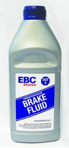 Performance - Fluids - EBC Brakes - EBC Brakes 1 250ml bottle of EBC Brakes DOT-4 glycol fluid DOT-4/1