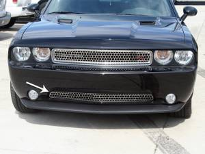 Exterior - Grilles - American Car Craft - American Car Craft Grille Satin Overlay Style Lower 11-12 152016