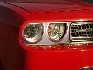 Lighting - Headlights - American Car Craft - American Car Craft Headlight Surrounds  Satin Illum. Red 152035-RDL