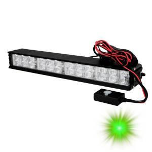 Oracle Lighting - Oracle Lighting ORACLE 24 LED Interceptor Strobe - Green 3503-004