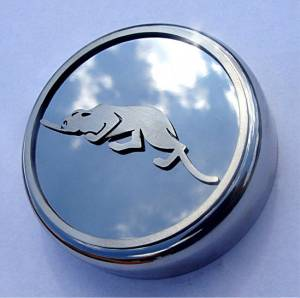 Engine Cooling - Cooling Parts - American Car Craft - American Car Craft Radiator Cap w/Kat LOGO 823022