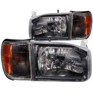 Lighting - Headlights - ANZO USA - ANZO USA Crystal Headlight Set 111051