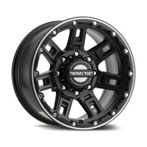 Wheels & Tires - Wheel & Tire Accessories - Mickey Thompson - Mickey Thompson MT SIDEBITER LOCK CLSD COVER CAP 8 LUG 90000031907