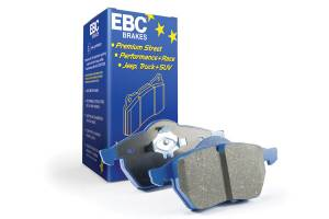 EBC Brakes High friction sport and race pad where longevity and performance is a must. DP51853NDX