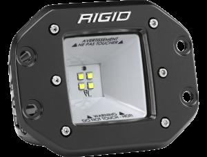 RIGID Industries - RIGID Industries 2X2 115 DEGREE DC SCENE FLUSH MOUNT BLACK 681523