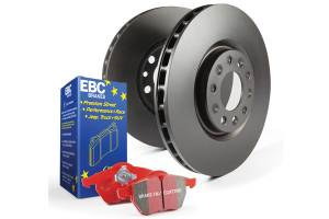 EBC Brakes OE Quality replacement rotors, same spec as original parts using G3000 Grey iron S12KR1326