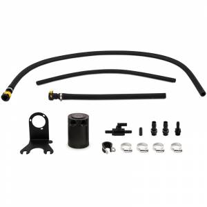 Performance - Oil System & Parts - Mishimoto - FLDS Jeep Wrangler JL 3.6L Baffled Oil Catch Can, 2018+ MMBCC-JLP-18PBE
